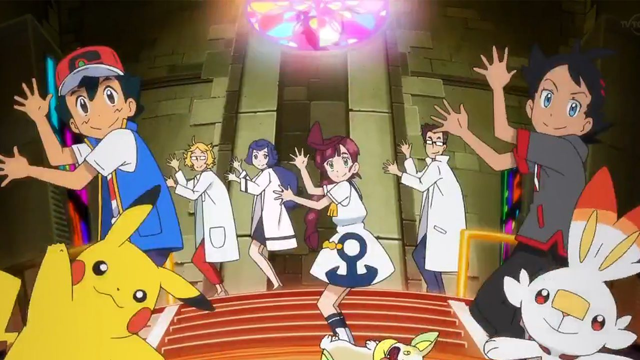 I protagonisti dell'anime Pokémon