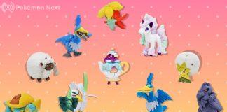 Peluches dei Pokémon di Galar