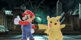 Super Mario e Pikachu top 100
