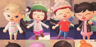 outfit personaggi di Galar in Animal Crossing: New Horizons