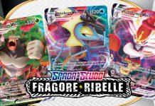 Pokémon -VMAX espansione Fragore Ribelle GCC