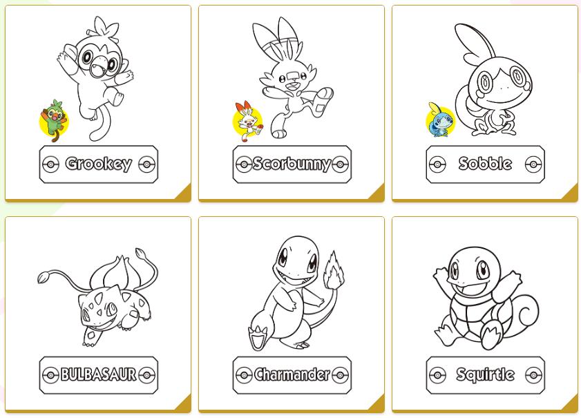 Disegni Da Colorare Di Pokemon.Ecco 20 Immagini Di Pokemon Tutte Da Colorare Per Passare Il Tempo