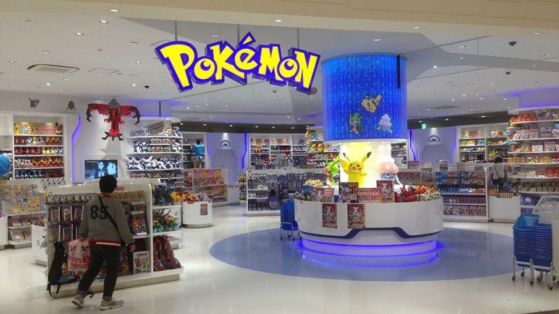 Riapertura Pokémon Center
