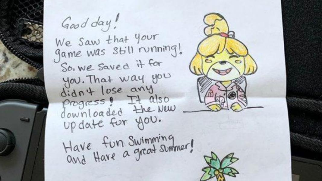Dimentica Nintendo Switch in hotel e... gliela restituiscono con una sorpresa!