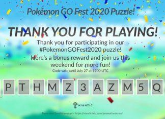 Codice Promozionale Pokémon GO