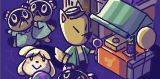 Animal Crossing: New Horizons: ecco un artwork dedicato ai fuochi d'artificio!