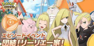 """Pokémon Masters EX: inizia l'evento """"Uniti in famiglia!"""""""