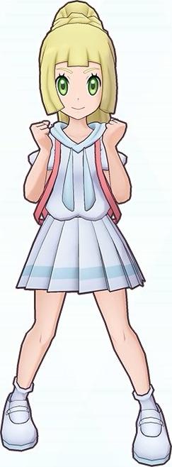 Lylia in Pokémon Masters EX
