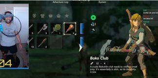 Giocare a The Legend of Zelda: Breath of the Wild con il Ring Fit è possibile, grazie a una mod