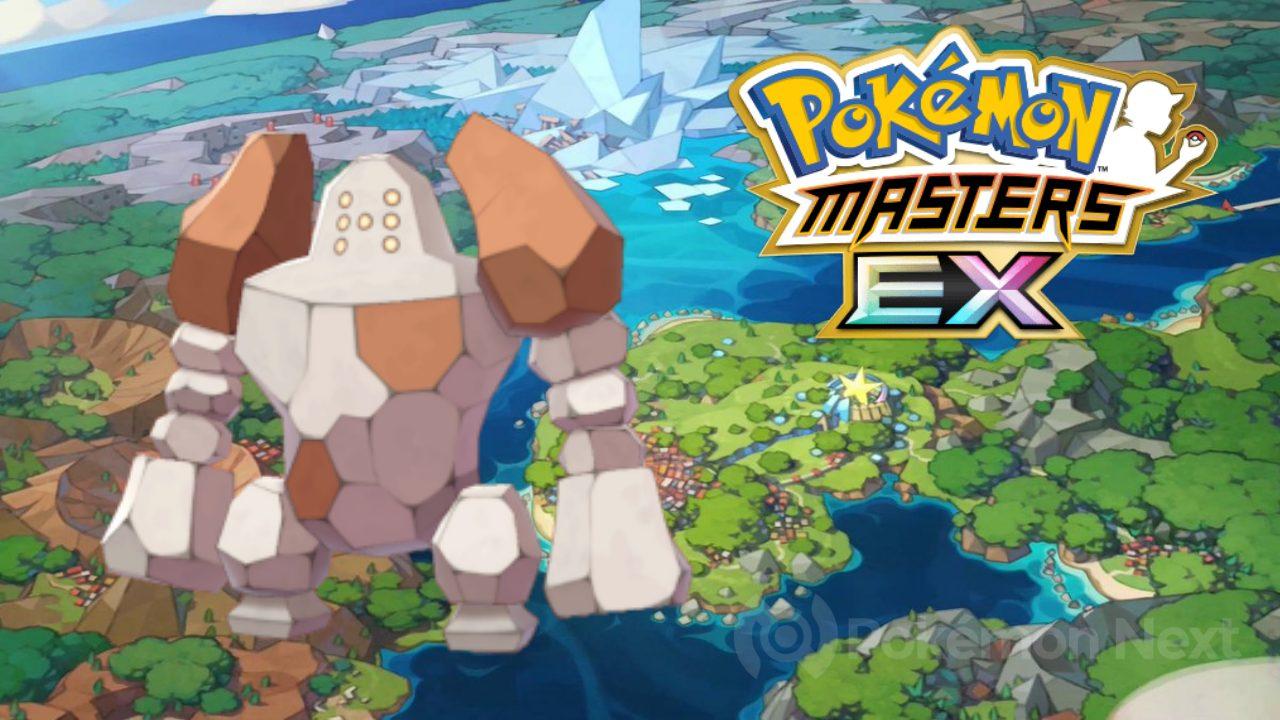 Pokémon Masters EX: in arrivo la Lotta Leggendaria di Regirock!