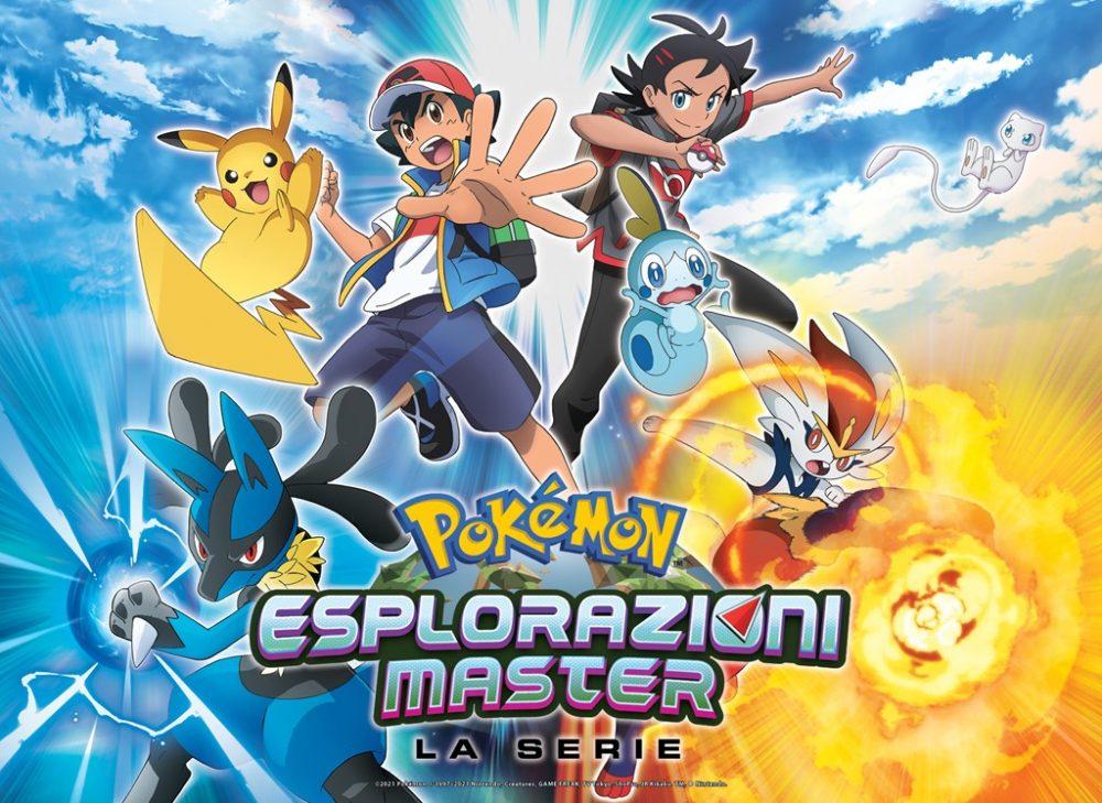 Pokémon Esplorazioni Master artwork