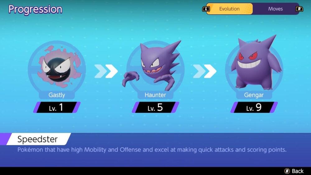 Pokémon UNITE Gengar